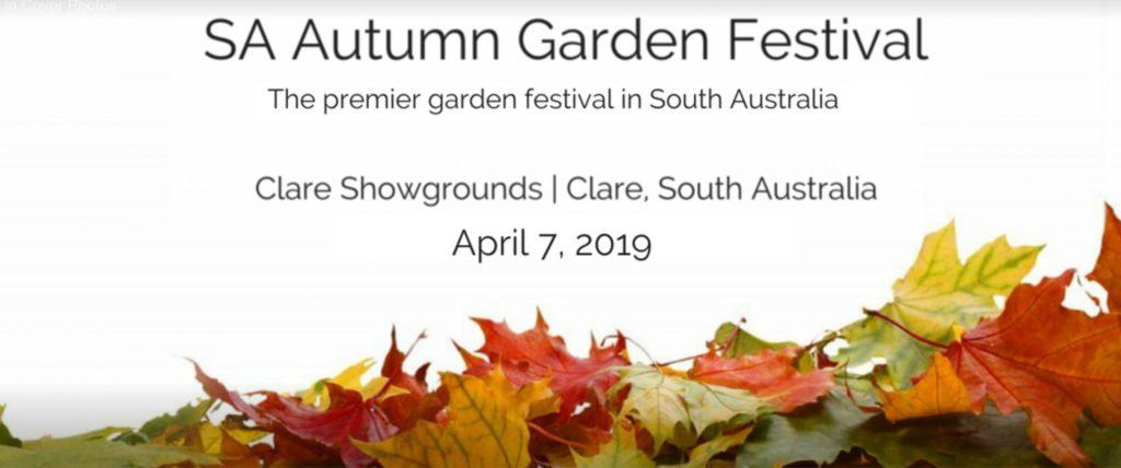 SA Autumn Garden Festival April 7 2019
